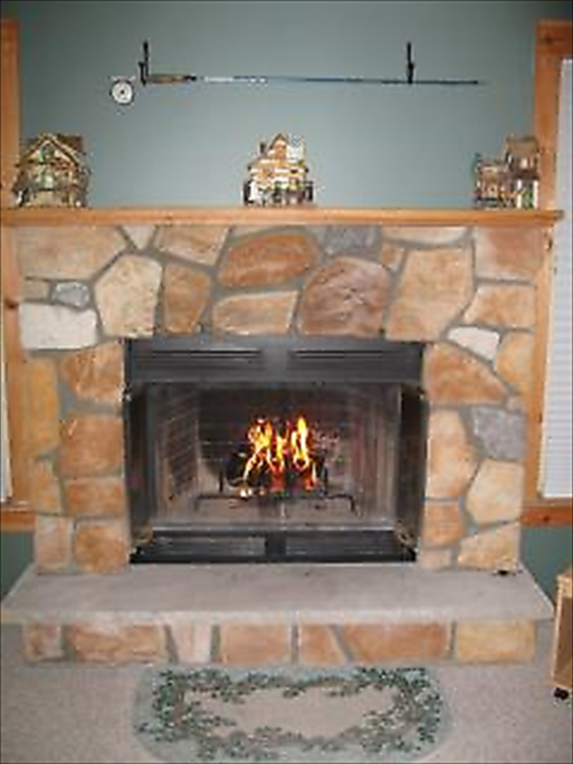 Woodburning Fireplace